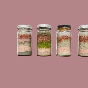 Bath soak set Herbal blend Gift set
