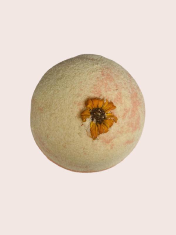 Bath Bomb Calendula Orange Fizzy