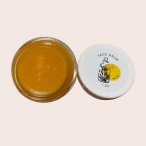 Co enzyme q10 facial balm